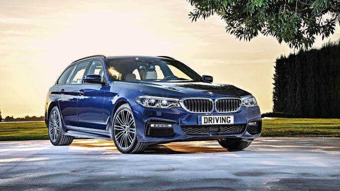 BMW 5 Series Touring. Family Technology