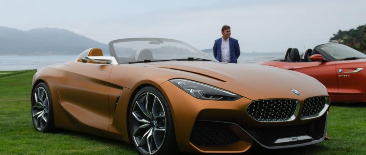 Pebble Beach 2017: Show BMW Z4 Concept G29