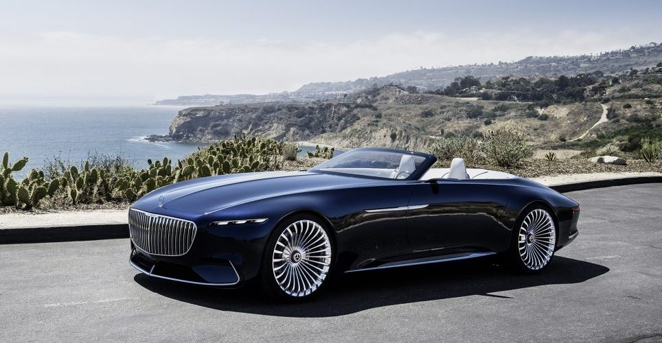 The Mercedes-Maybach Vision 6 gets a cabriolet
