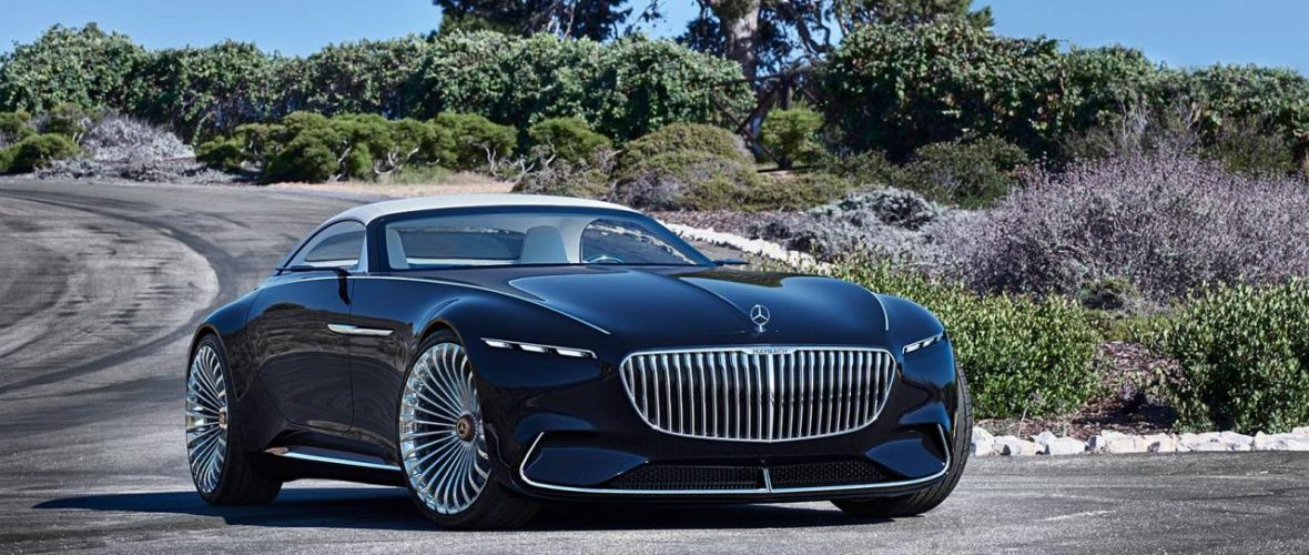The new Vision Mercedes-Benz Maybach 6 Cabriolet shown in Monterey