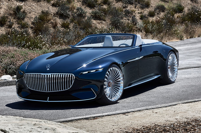 Vision Mercedes-Maybach 6 Cabriolet Wows Pebble Beach Crowd