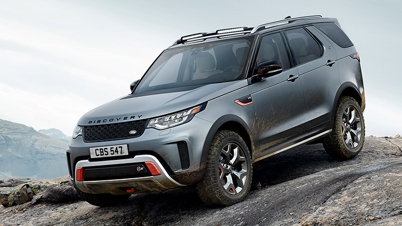2018 Land Rover Discovery SVX, Most powerful version of the Discovery Range