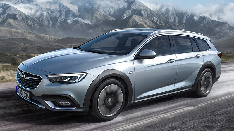 2018 Opel Insignia Country Tourer Overview