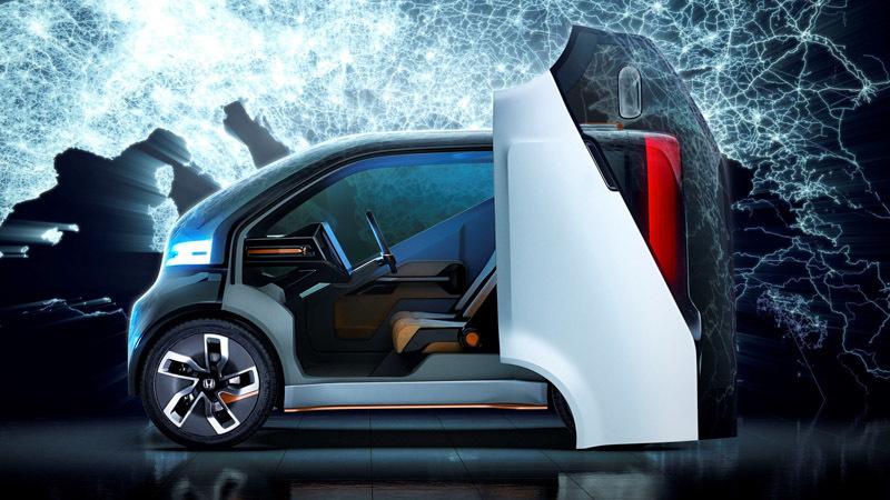 All New Honda NeuV Prototype