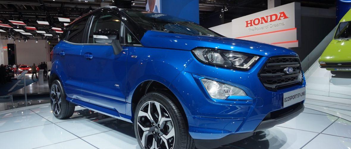 All Wheel Drive 2018 Ford EcoSport at the Frankfurt Motor Show 2017