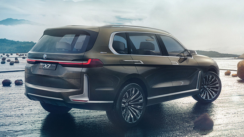 BMW Concept X7 iPerformance Specs and Details