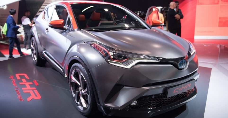 Toyota C-HR Hy-Power: Hybrid takes muscle