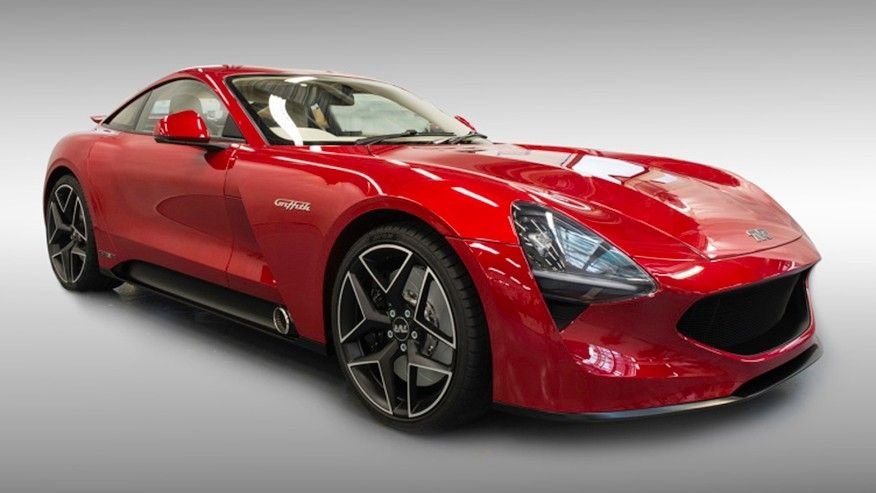 TVR Griffith Al Goodwood Revival the new sport