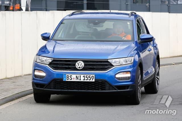 Volkswagen T-Roc R Spied Testing at Nurburgring circuit