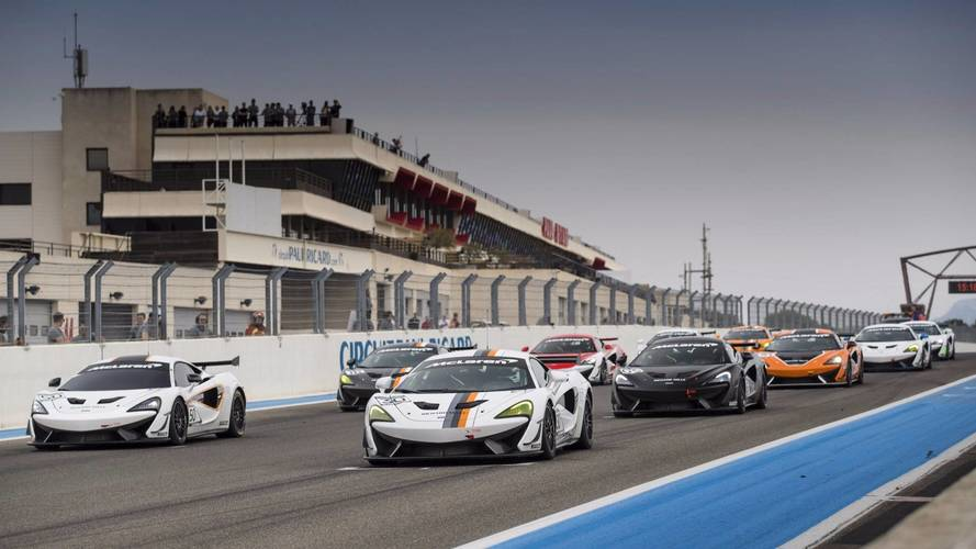 "McLaren presents the ""Pure McLaren GT4 Club Race"""
