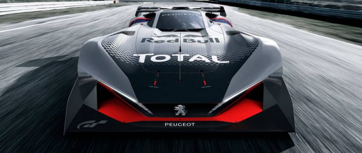 Peugeot L750 R HYbrid Vision, the precious supercar that will not hit the road