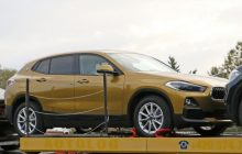The BMW X2 surprised with a very little camouflage