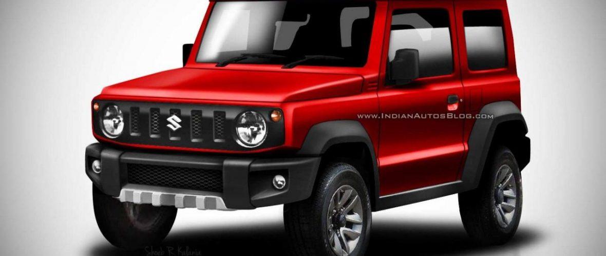 The new Suzuki Jimny takes virtually color