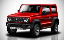 The new Suzuki Jimny takes virtually color