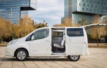 The Nissan e-NV200 offers new batteries