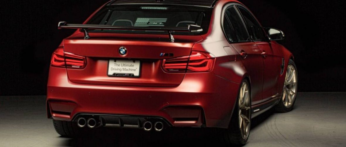 BMW M3 30 Years American Edition, magnificent tribute