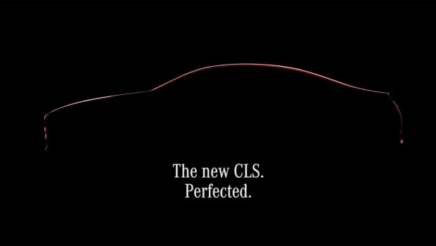 New Mercedes CLS, a video teaser awaiting debut