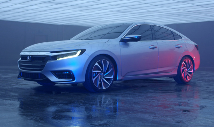 Honda Insight Prototype 2019: debut at the Detroit Motor Show 2018