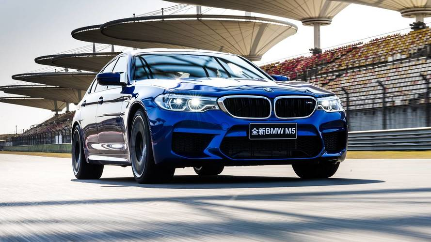The new BMW M5 wins a record at the Shanghai circuit