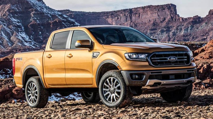 2019 Ford Ranger Unveiled at the Detroit Auto Show