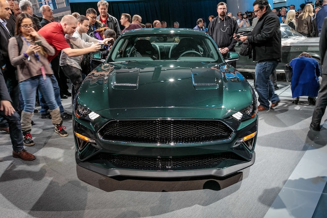 Very First 2019 Ford Mustang Bullitt Sold For $300,000
