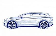 New Volkswagen Touareg III: Unveiled on March 23, 2018
