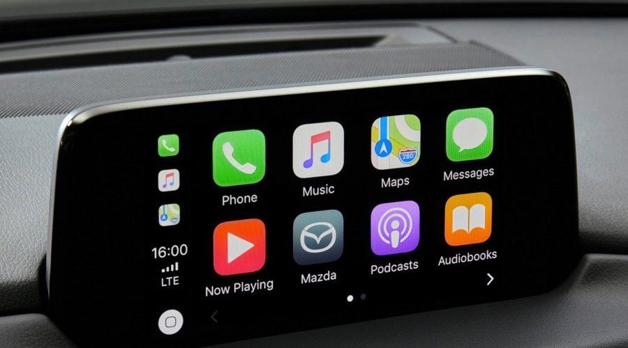 Apple CarPlay and Android Auto soon at Mazda