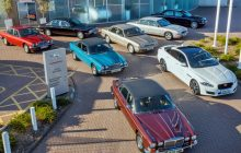 50th of the Jaguar XJ: a historic convoy goes to the Mondial de l'auto