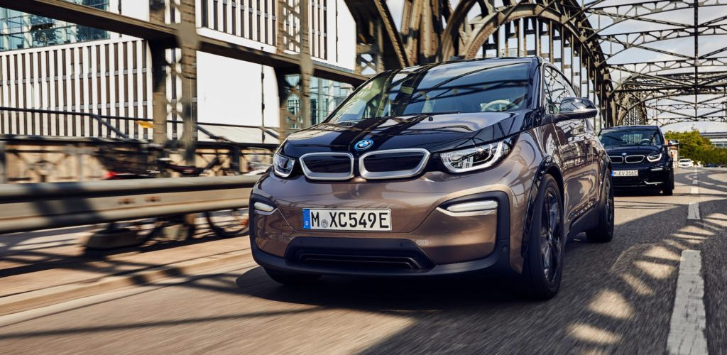 BMW i3 becomes 100% electric in Europe