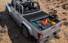 Jeep Gladiator, with more cargo space