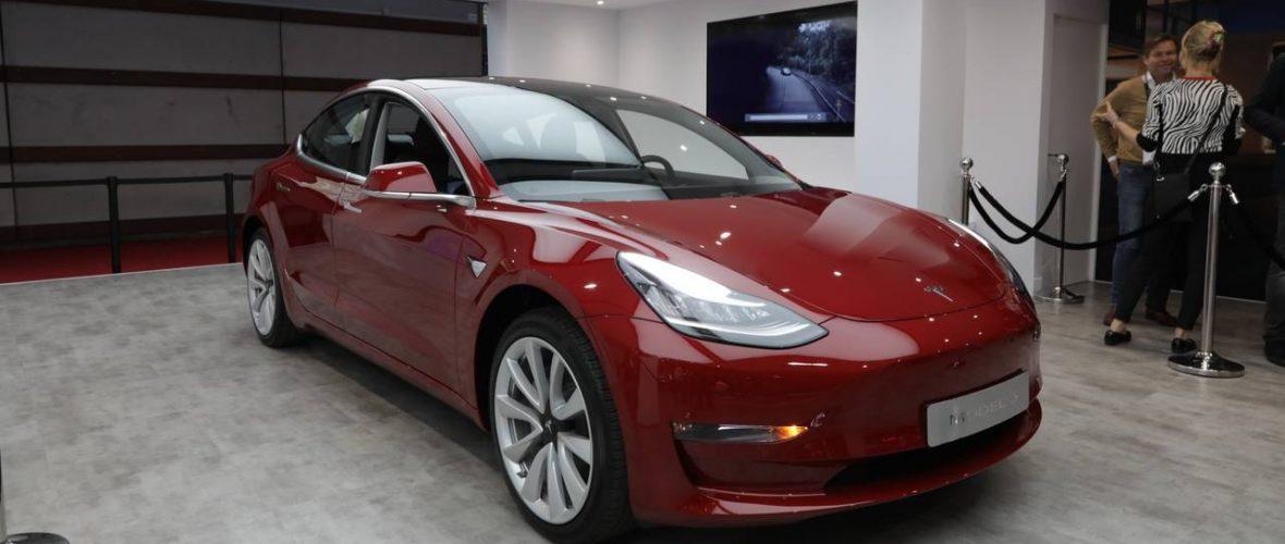 Tesla Model 3 Price in Italy