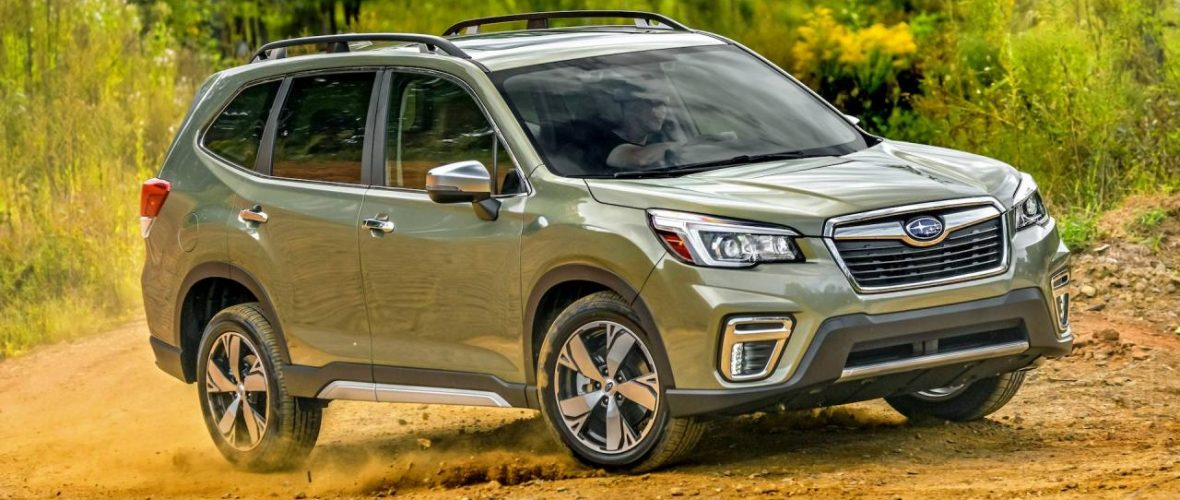 2019 Subaru Forester Small improvements