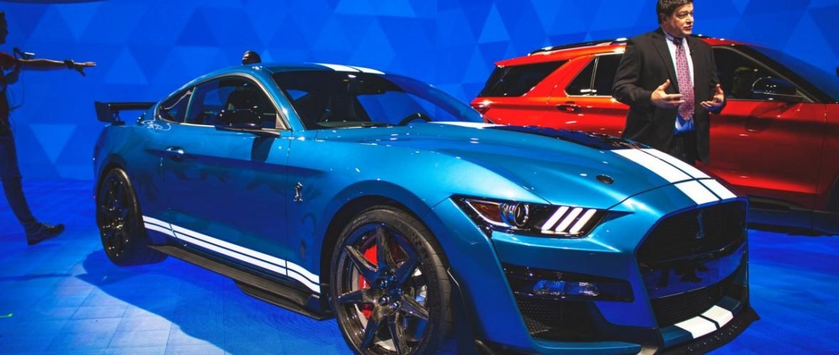 Ford Unveils 2020 Ford Mustang Shelby GT500