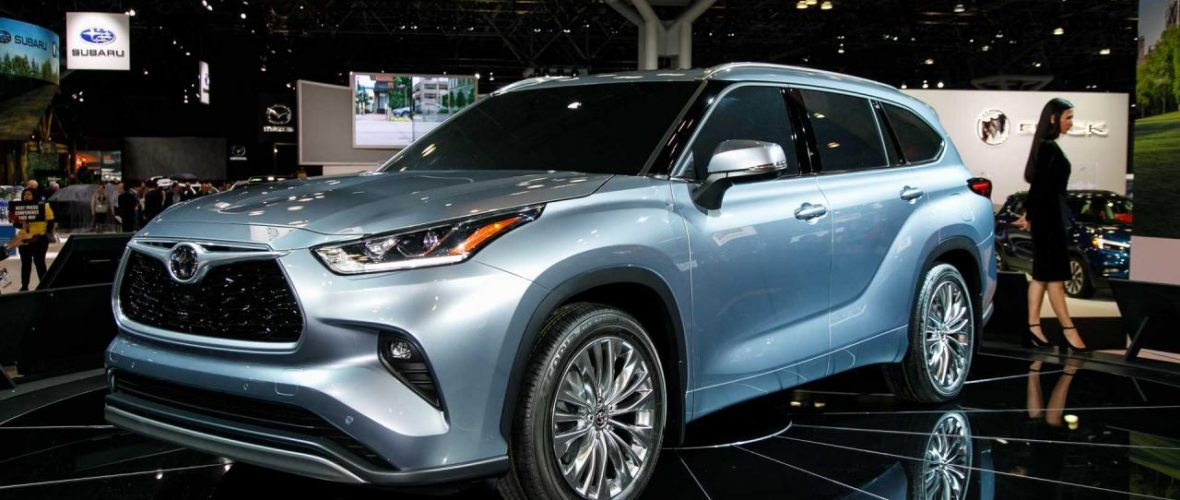 2020 Toyota Highlander Redesign Debut