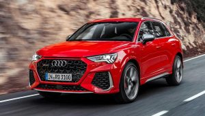 Audi RS Q3, 5-cylinder also in coupe SUV version