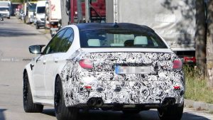 BMW M5 Redesign From Spy Photos