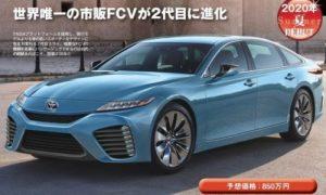 Toyota Mirai 2020, the hydrogen car will receive a major update