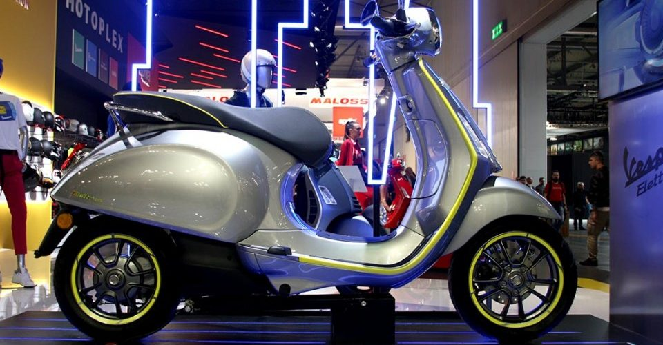 Piaggio Elettrica: the electric vespa goes into category 125