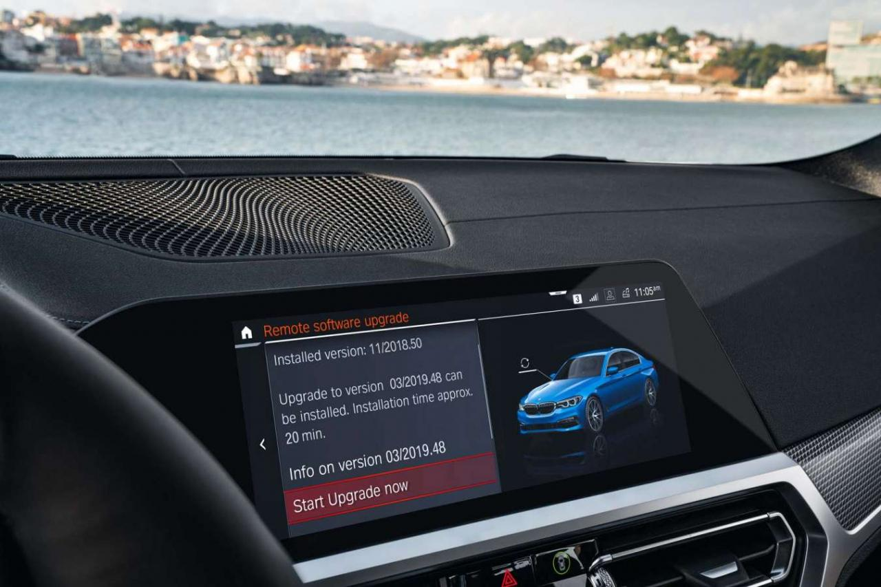 BMW: major software update for 500,000 vehicles