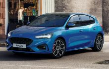 Ford Focus Now with a soft hybrid system and a 48-volt installation