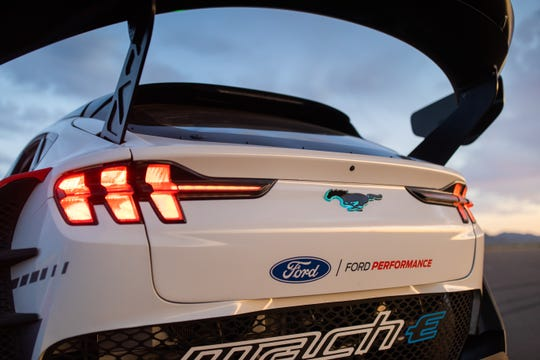 Ford's 1,400-hp Mustang Mach-E, What future racing car could be