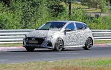 New spy photos of the new Hyundai i20 N