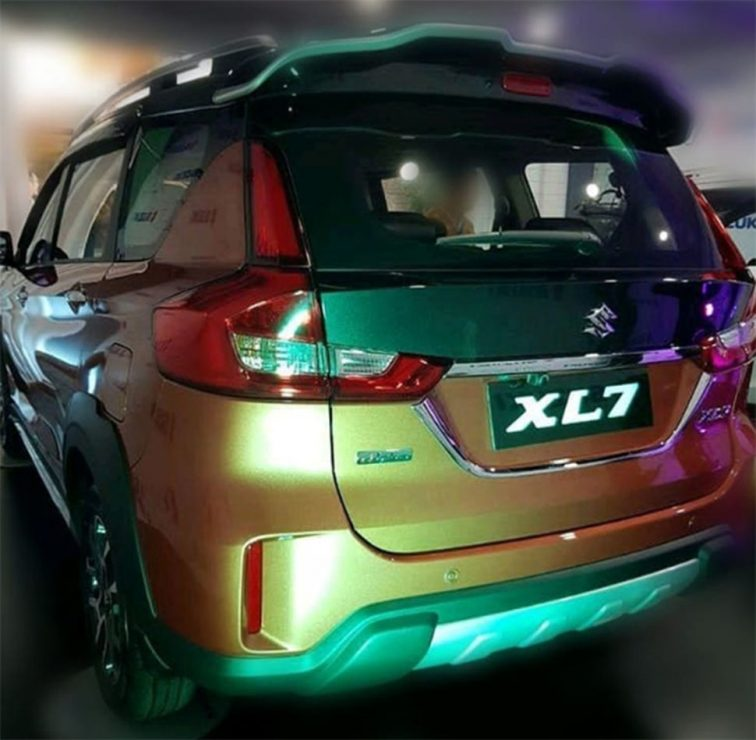 new suzuki xl7 the new twin model ertiga likeautomotive likeautomotive