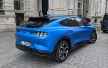 Electric SUV Ford Mustang Mach-E Price , cheaper than the Tesla Model Y