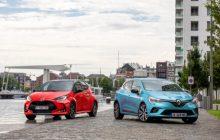 Toyota Yaris vs Renault Clio E-Tech test: the hybrid match