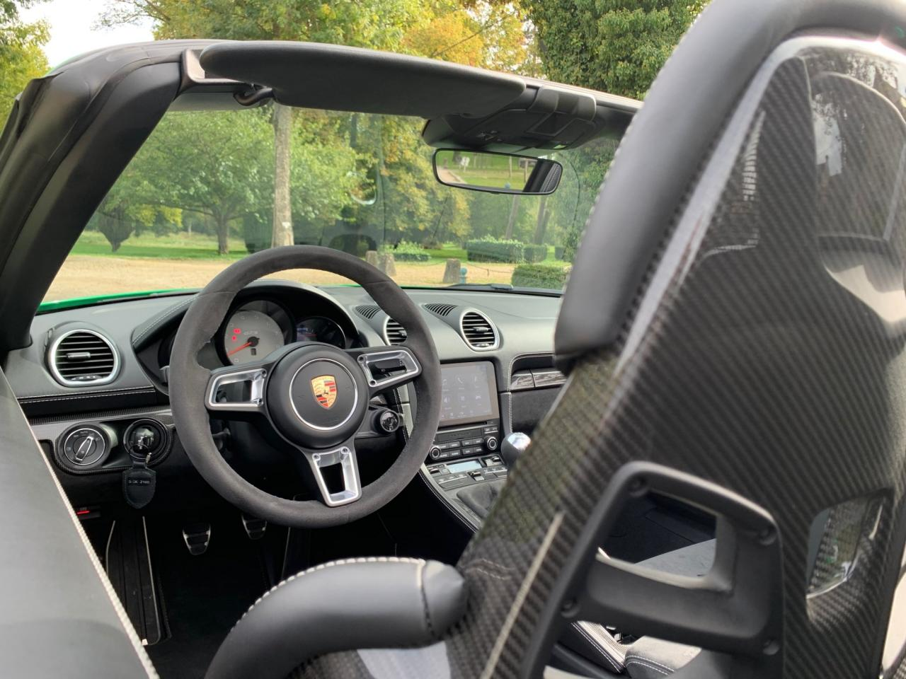 Porsche 718 Boxster GTS 4.0 test, Specs, and Review