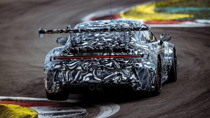 Porsche 911 GT3 Cup (992) Test Drive