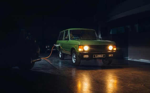 Range Rover: Classic edge with electric motor