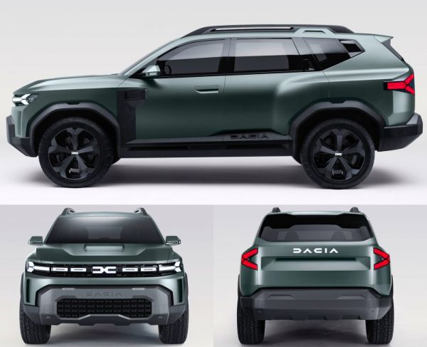 The square SUV will be Dacia's top model