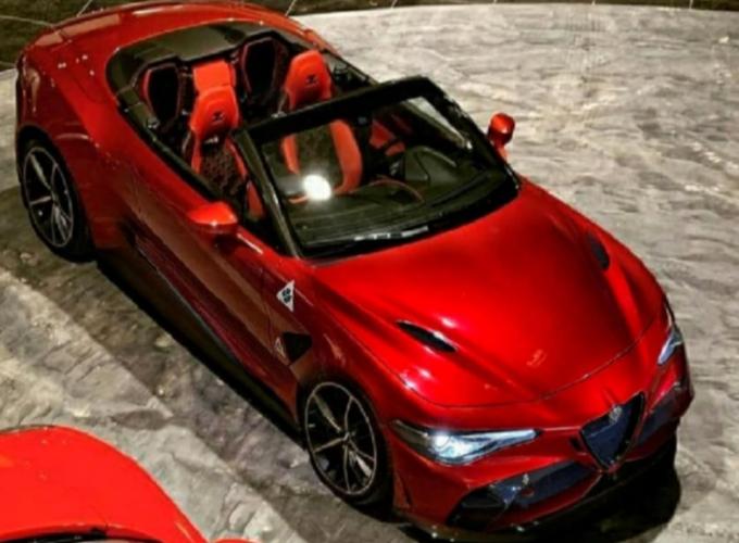Alfa Romeo Giulia Cabrio: a dream spider